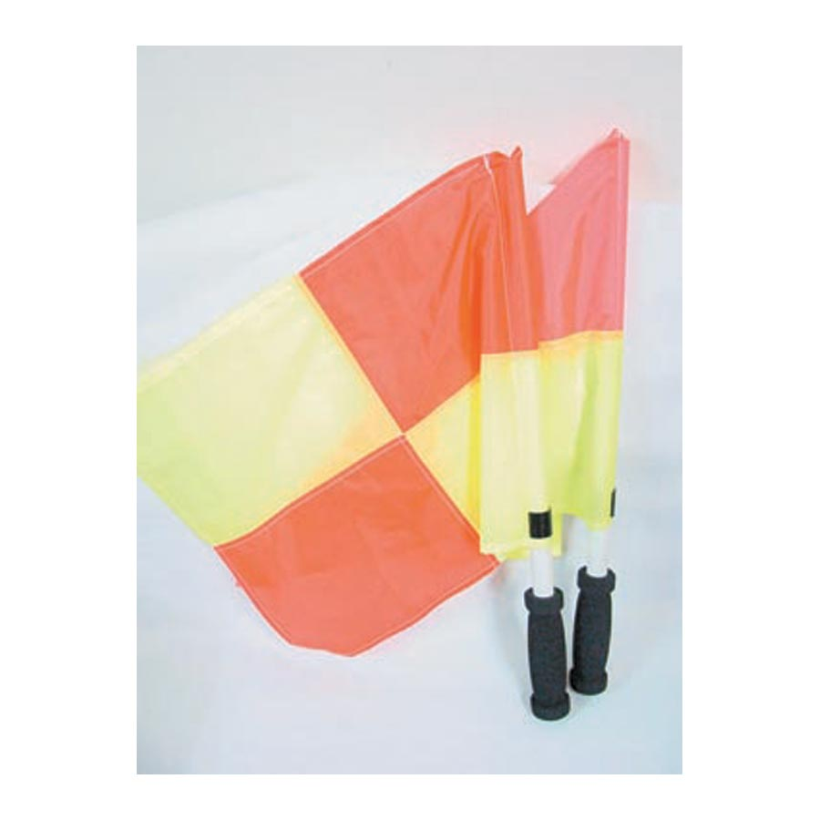LOTTO REFEREES LINESMANS FLAG SET OF 2