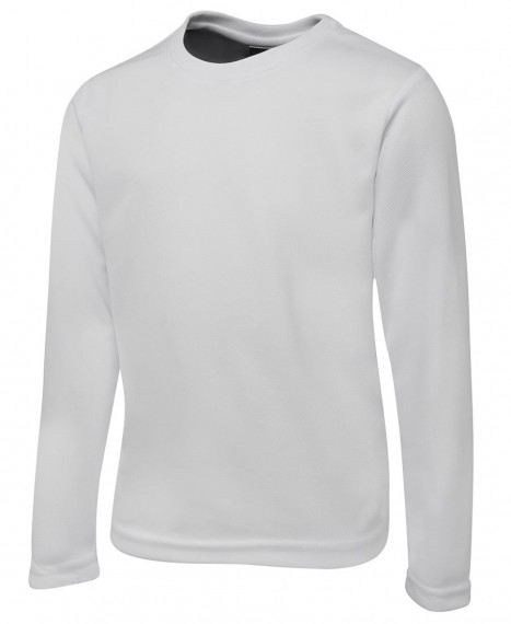JB'S LONG SLEEVE POLY TEE KIDS